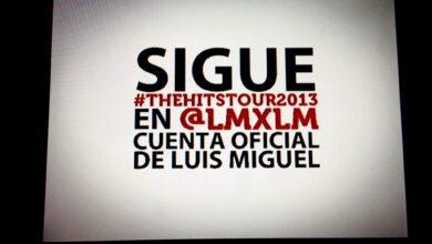 Photo of Los fans del mundo twittean por Luis Miguel