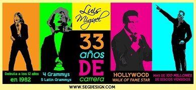 Photo of Luis Miguel, 33 años de música e historia