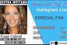 Photo of Euge Cabral con Reinas del Rey